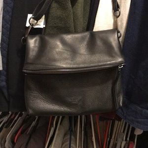 Margot New York Genuine Leather Crossbody NWT